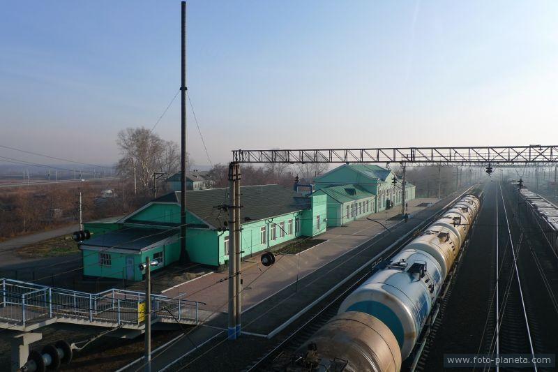 Железнодорожная станция Обь