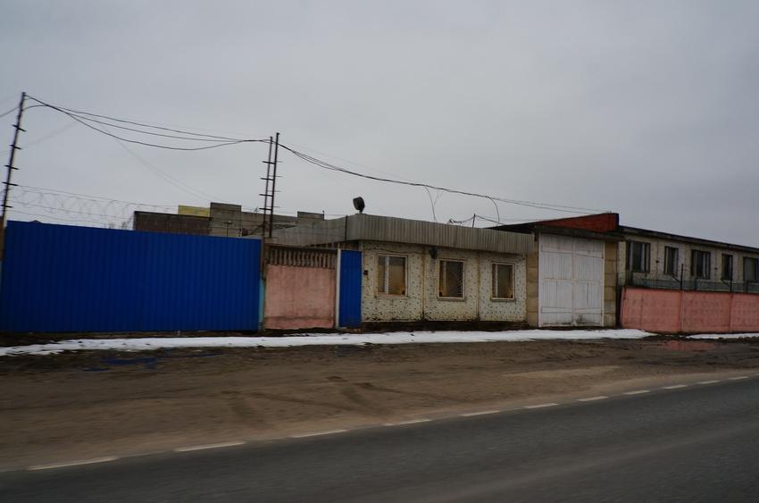 Сотниково, оптовый склад стройматериалов