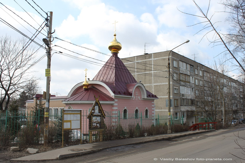 Дубровский (Вырубово). Церковь Боголюбской иконы Божией Матери.