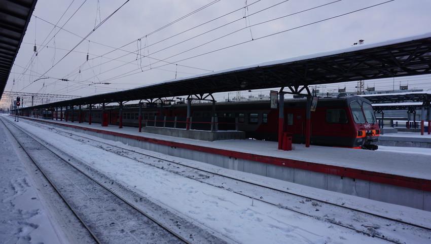 Железнодорожные платформы.