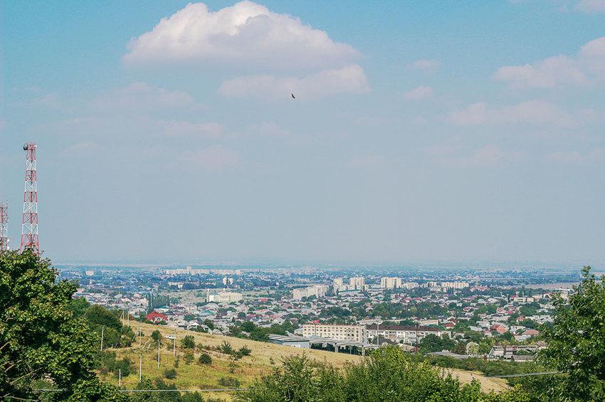 Вид с Малой Кизиловки.