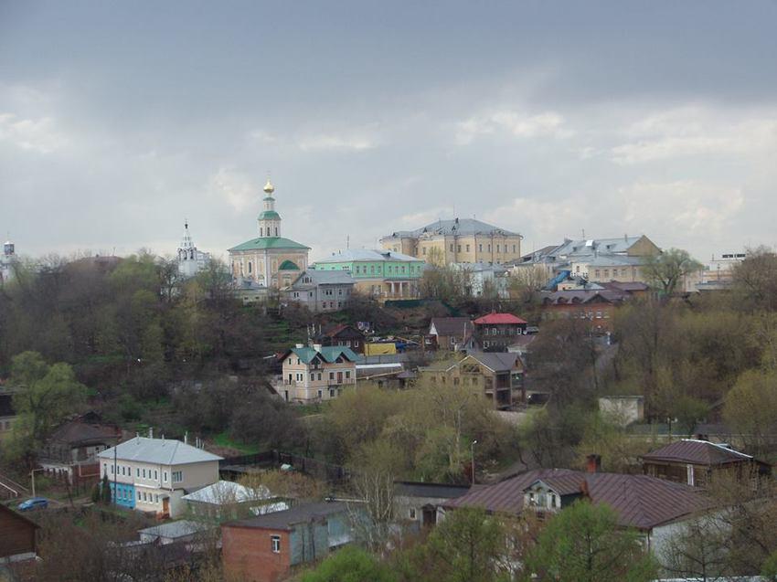 Панорама г. Владимира.