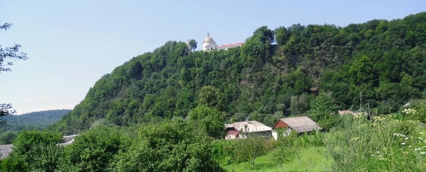Greek-Catholic monastery in the village Hoshiv. Ukraine.