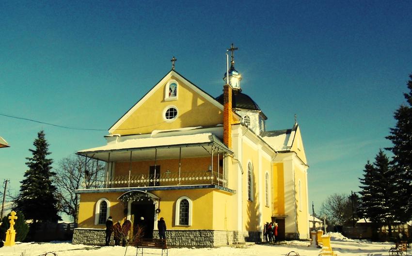 Exaltation of the Holy Cross Orthodox Church. Kulchytsi