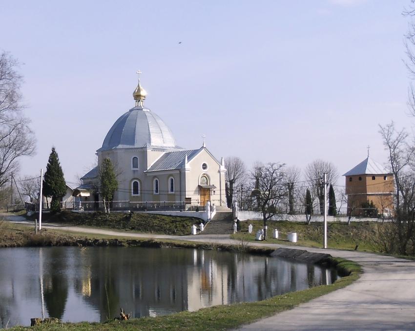 Church of St. Paraskeva. Ugry, Horodok region