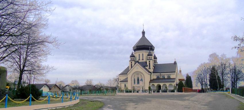 Church of St. Archangel Michael in Zavadiv