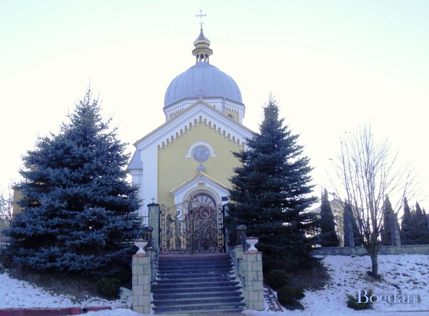 Парафіяльна церква Святого Георгія в селі Вовчухи Городоцького району.