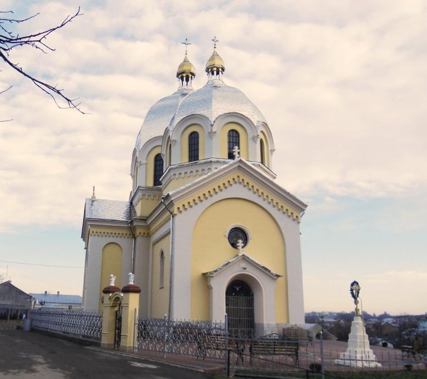 Великі Грибовичі. Церква св.Кузьми і Дем'яна ( мурована, 1897 р.)