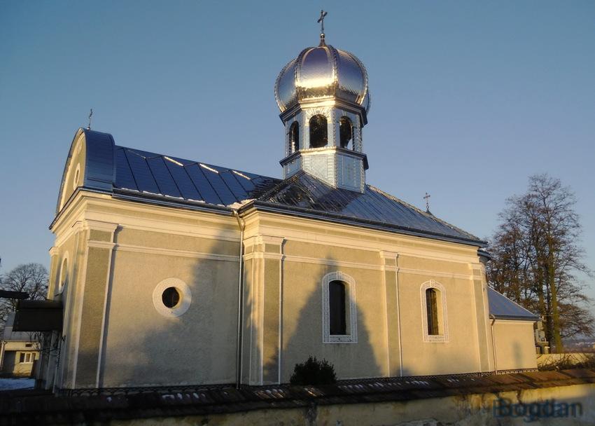 Церква Введення в храм Пресвятої Богородиці УГКЦ в селі Мшана 1799 року.