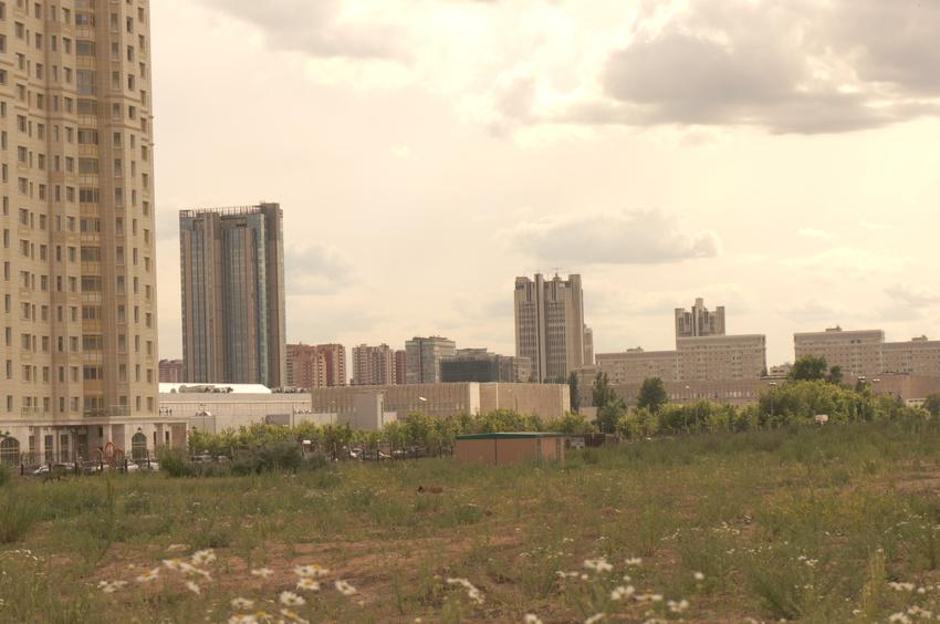 Территория под строительство новых корпусов МГУ