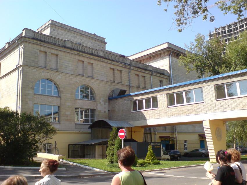 Экскурсия по Мосфильму, 2007.
