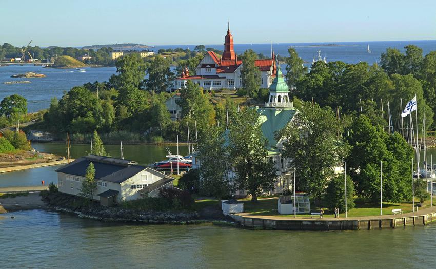 Вид на острова