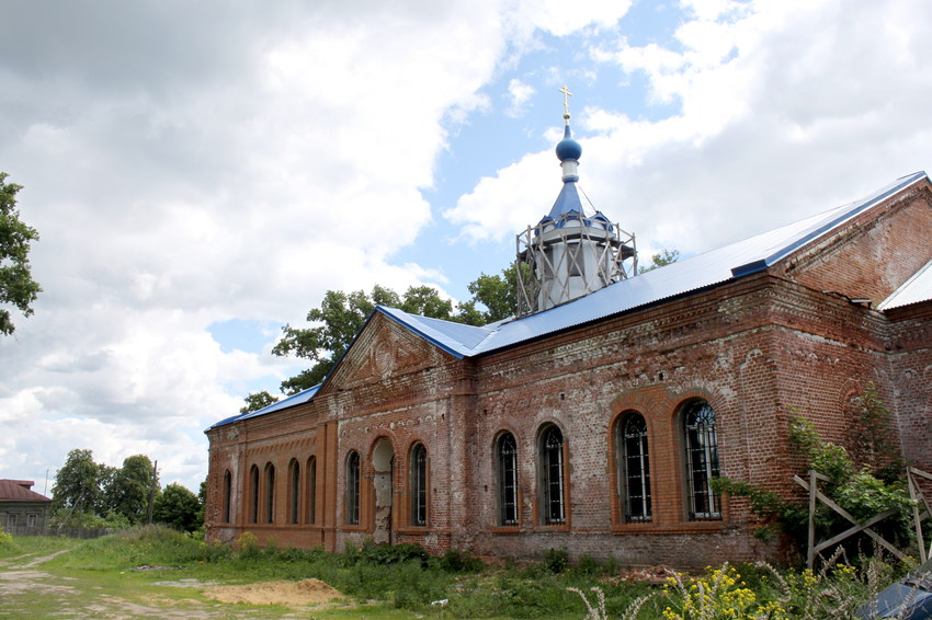 Осовец. Церковь Покрова Пресвятой Богородицы