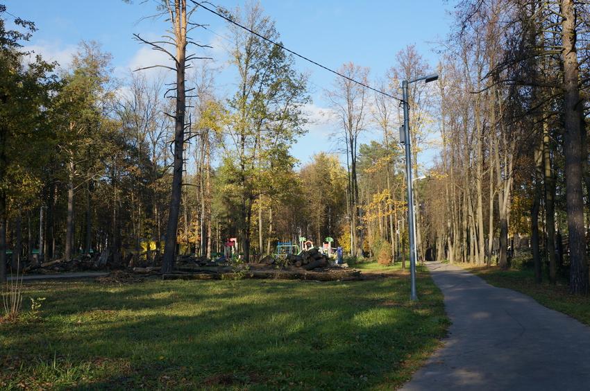 Парк в Расторгуево
