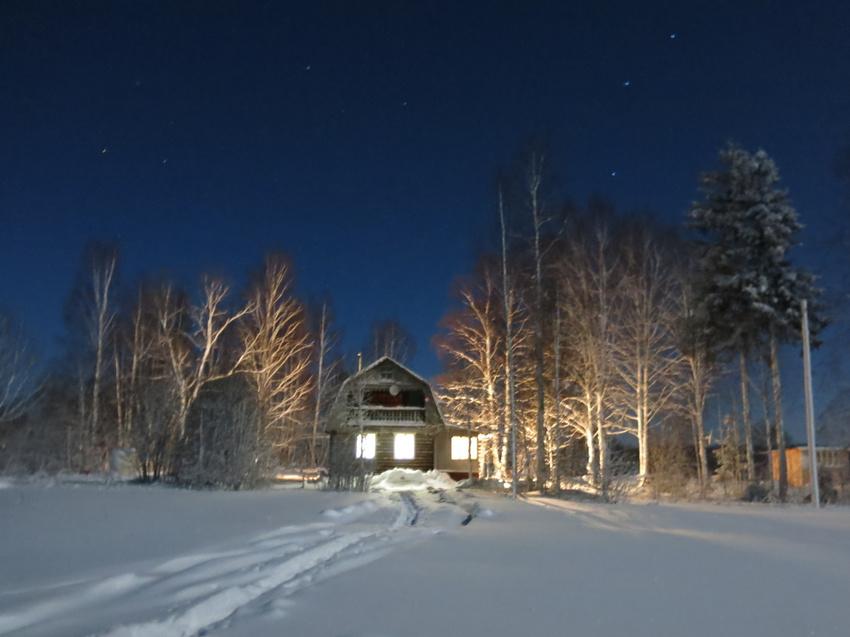 Ночная сказка. | Щипцово (Пошехонский район)