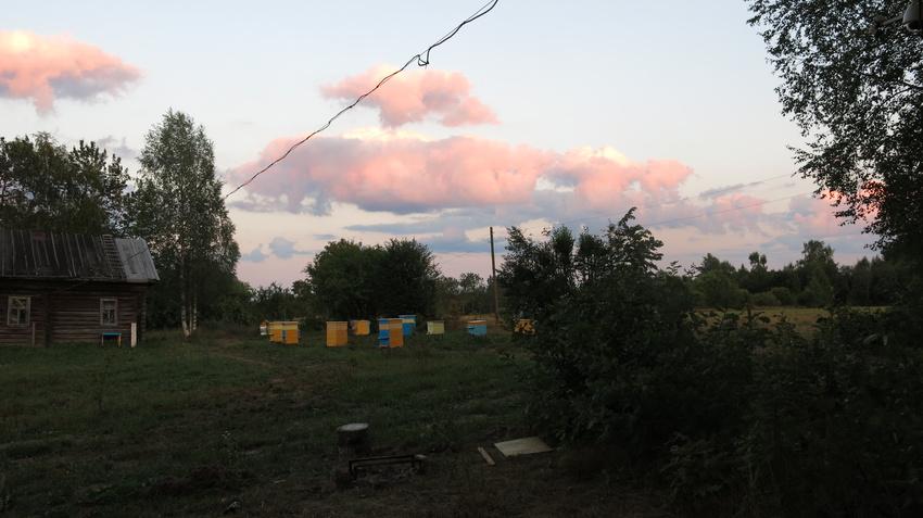 Облака.... | Щипцово (Пошехонский район)
