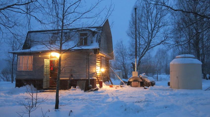 Вечер в Щипцово. | Пошехонский район