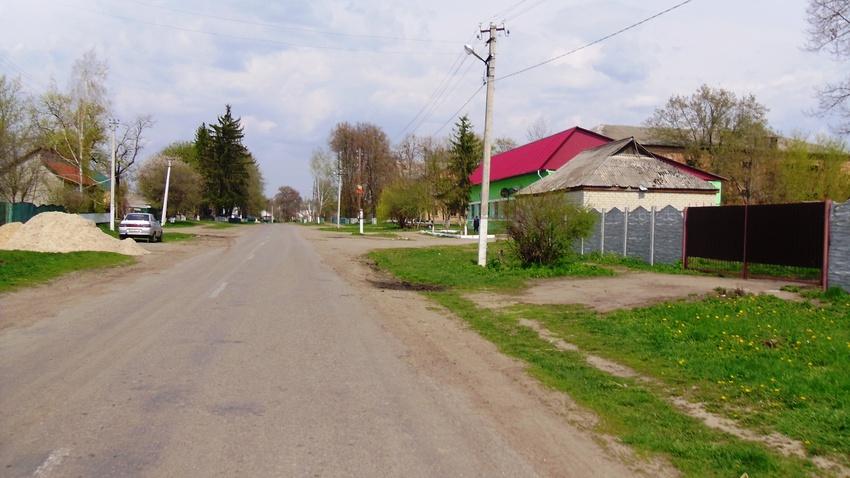 Центральна вулиця,в напрямку на Ротмистрівку
