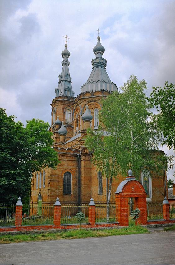 Церковь Николая Чудотворца (Никольская церковь). 15 июля 2004 года