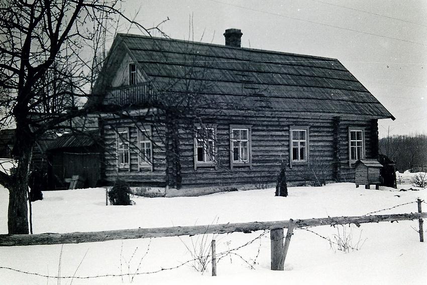Родительский дом . Деревня Глембочино