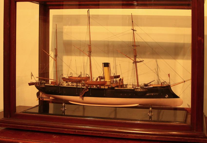 музей канонерской лодки кореец