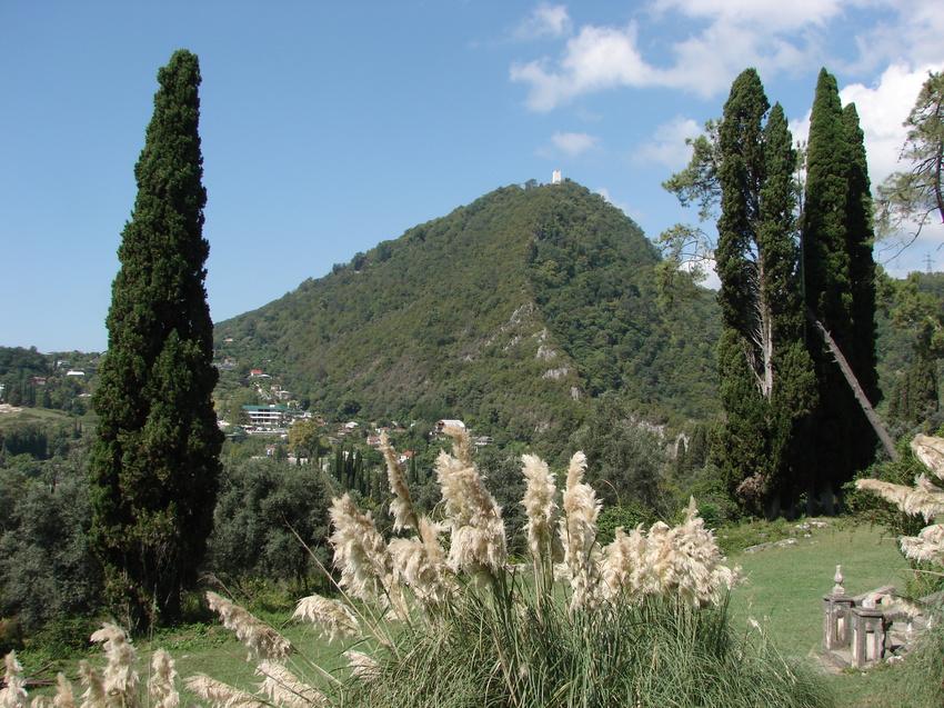 Абхазия. Новый Афон и Иверская гора. 9 сентября 2010 года