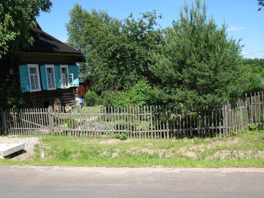 Кожино.Простая русская деревня.Как русская душа - на расрашку.