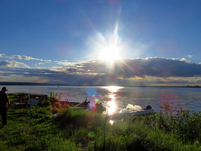 Восход на Каме