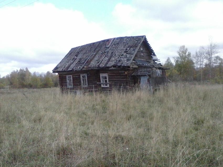Дом Виноградова Григория (до 90-х годов) в деревне Ионино