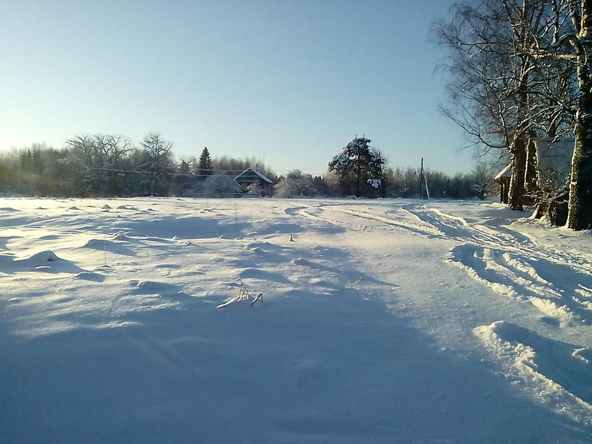 Солнечный денёк в зимнем Щипцово. | Пошехонский район
