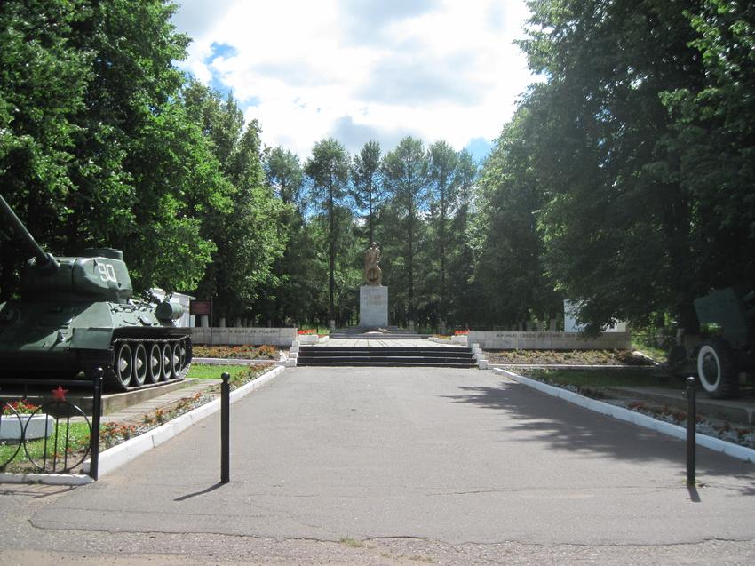 Сквер Победы в Можге