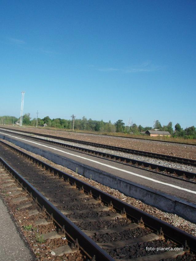 Спас-Деменск. Железнодорожный вокзал