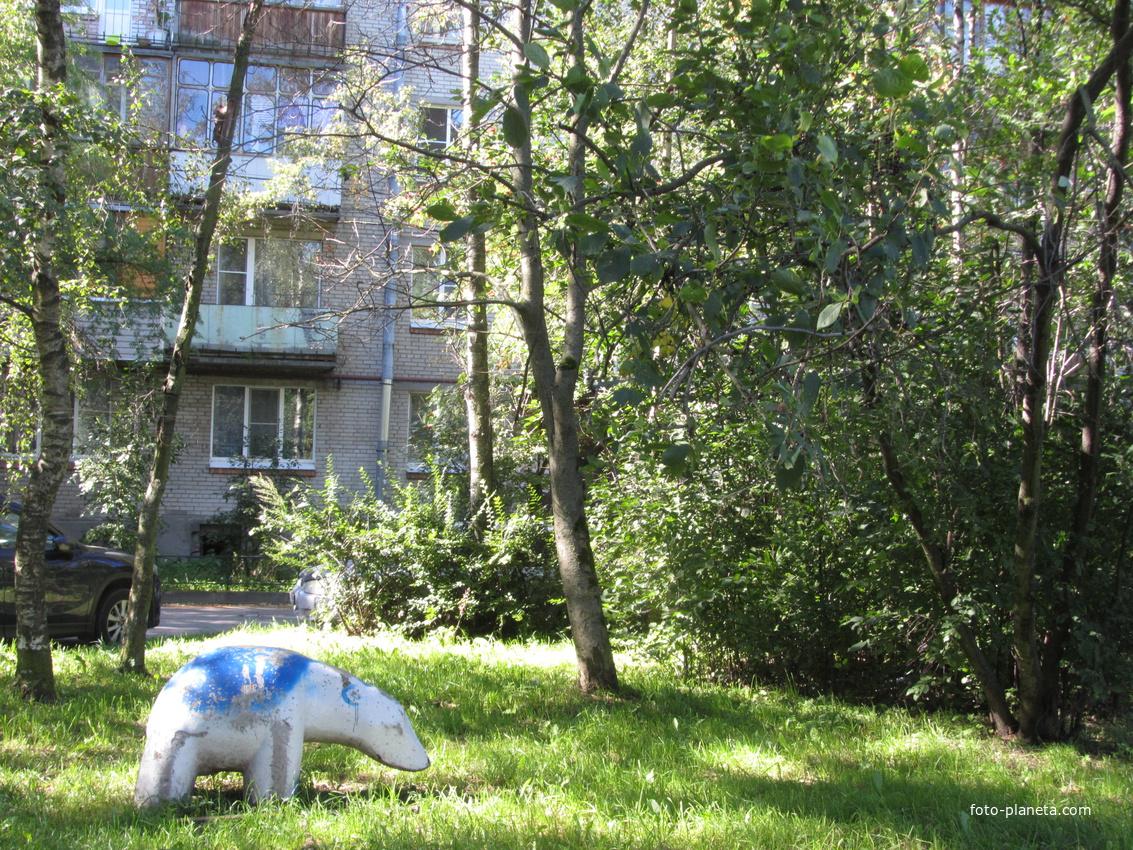 Шушары, во дворе ул. Школьной