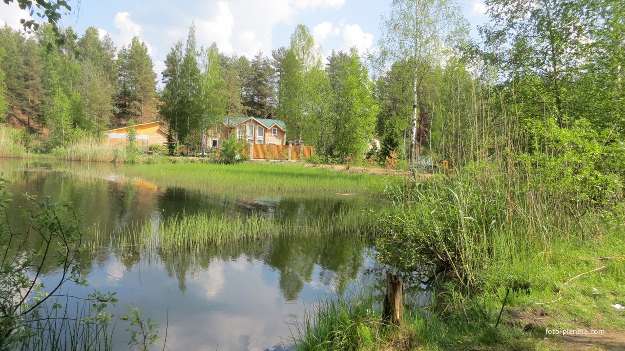 Село Шапки. Озеро 1 карьер.