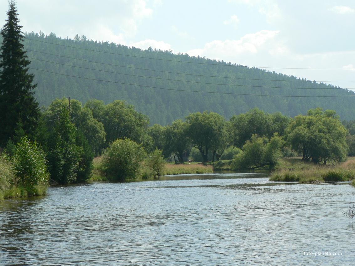 Река Олха.Большой Луг.