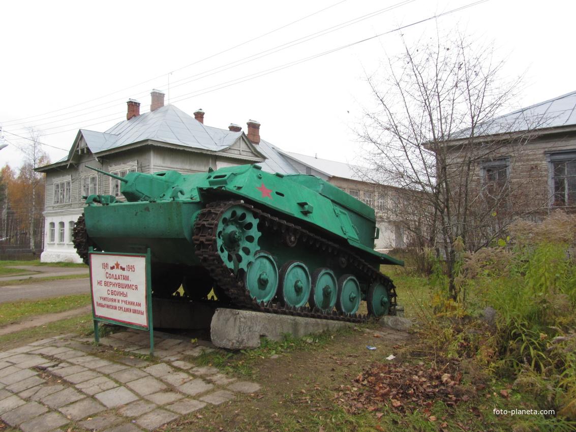 Памятник учителям и ученикам, погибшим в период ВОВ | Любытино