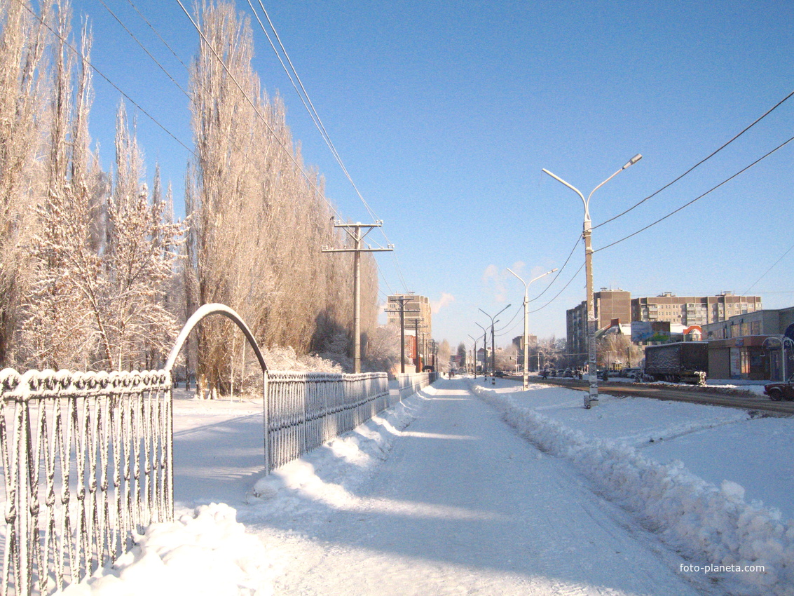 Зима  в Россоши
