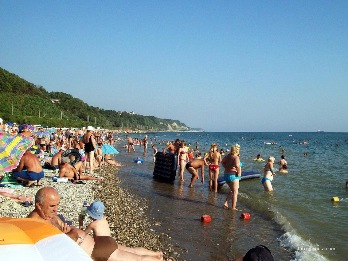 Туапсе. Пляж