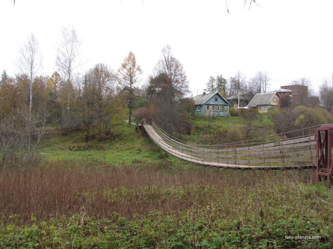 Подвесной мост | Любытино (Любытинский район)