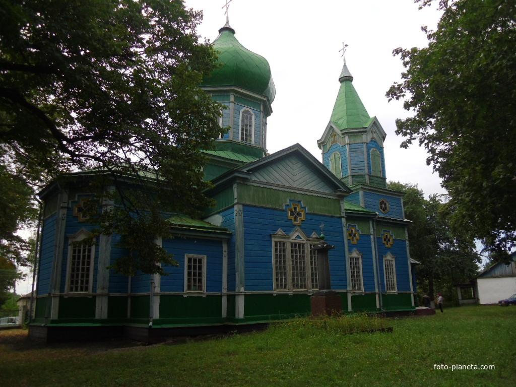 Церковь св. Дмитрия Солунского 1822 год