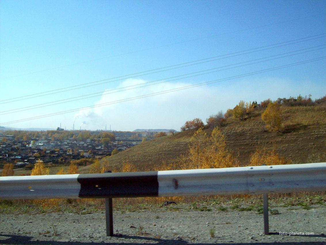 Дорога Р-255 Сибирь. Ачинск. Объездная дорога | Ачинск