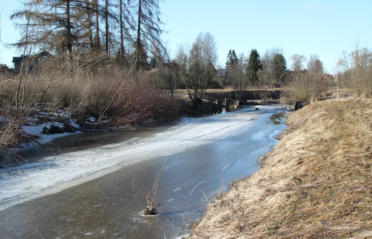 Река Славянка | Тярлево (Пушкинский район)