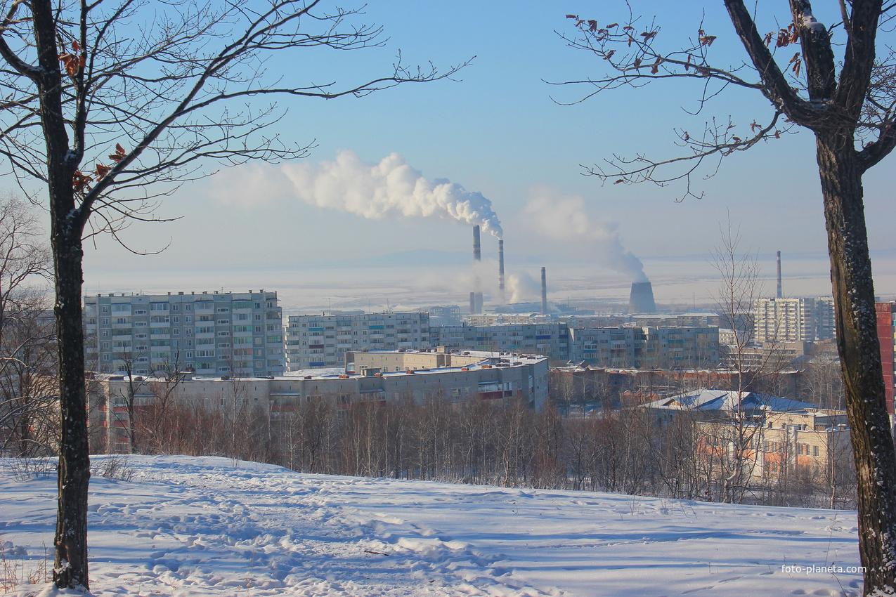 Зимний пейзаж | Амурск (Амурский район)