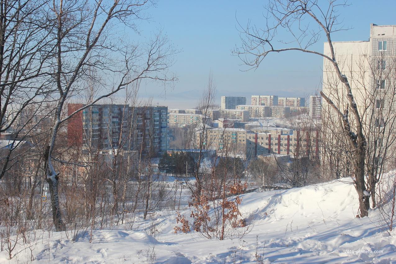 Зима в Амурске | Амурский район
