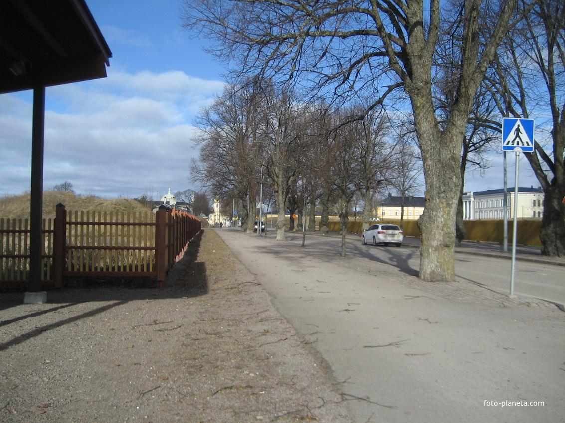 Улица Кадеттикулункату