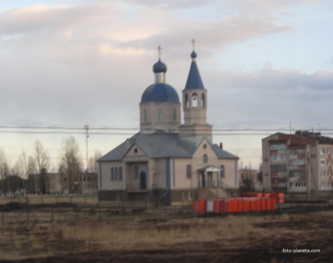 """Лесная. Церковь иконы Божией Матери """"Спорительница хлебов""""."""