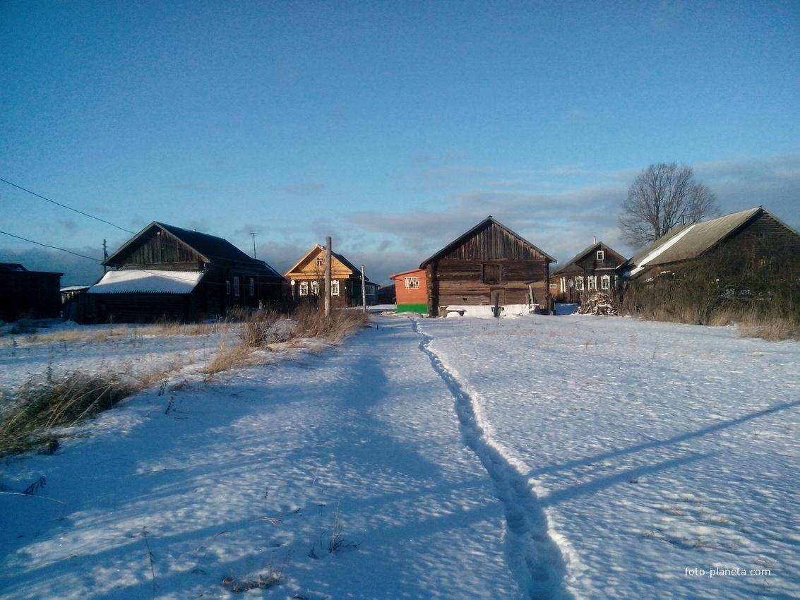 Ульяниха зима 2015 | Весьегонский район