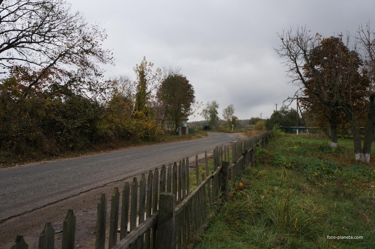 Михайловка, дорога на Лебедин