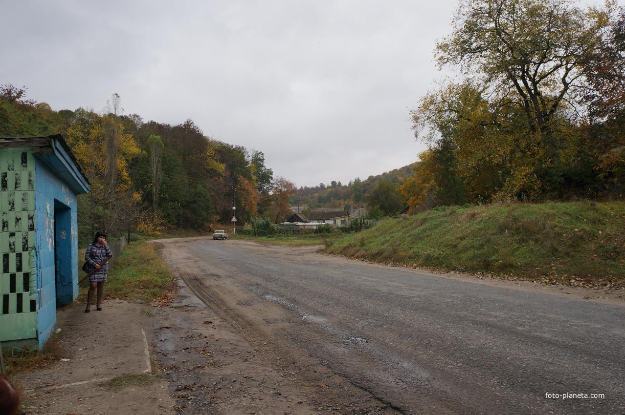 Михайловка, остановка