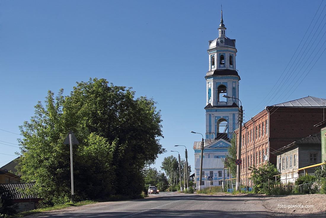 Храм. Суна. Кировская область